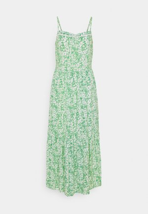 PRINTED TIERED - Day dress - green