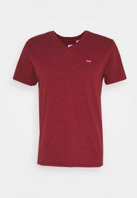 VNECK - Basic T-shirt - reds