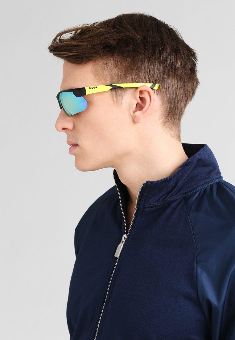 Uvex - SPORTSTYLE 221 - Sports glasses - black mat yellow