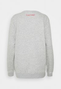 Calvin Klein Underwear - RAW EDGE LOUNGE - Pyjama top - grey