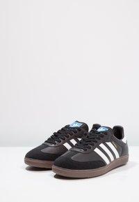 adidas Originals - SAMBA OG - Sneaker low - core black/footwear white - 2