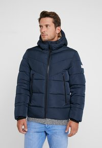 TOM TAILOR DENIM - HEAVY PUFFER JACKET - Winterjacke - sky captain blue - 0