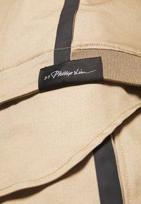 3.1 Phillip Lim - JACKET REMOVABLE TAIL - Krátký kabát - sand - 5