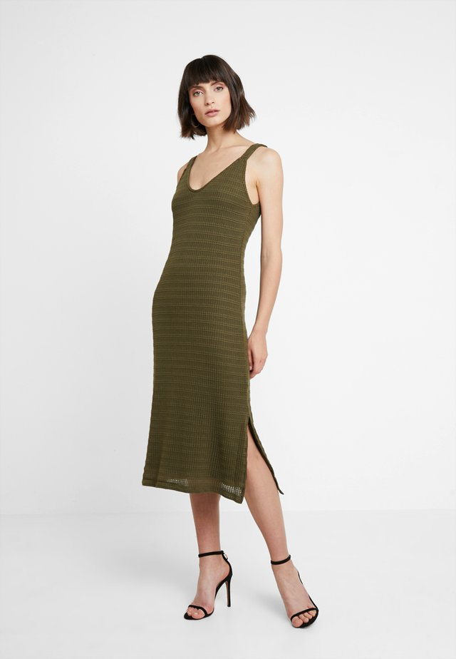 Vestido largo - olive night