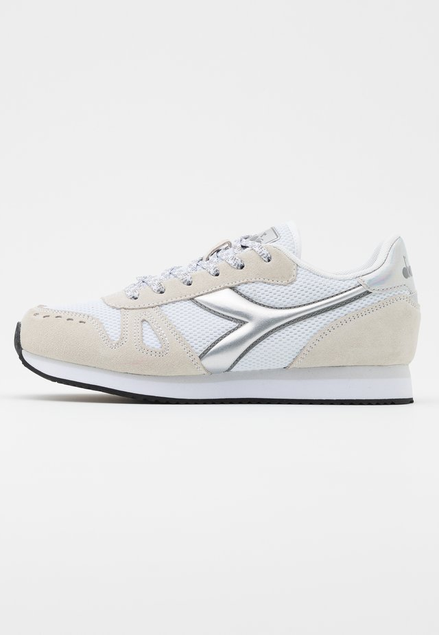 SIMPLE RUN  - Trainers - white