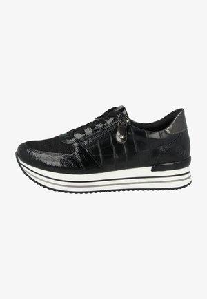 Sneakers laag - black-black-black-lead