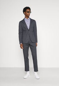 Tommy Hilfiger Tailored - MINI CHECK SLIM FIT - Shirt - navy/white - 1