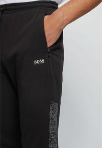 BOSS - Tracksuit bottoms - black - 3