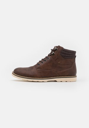 BUSTIN - Lace-up ankle boots - brown