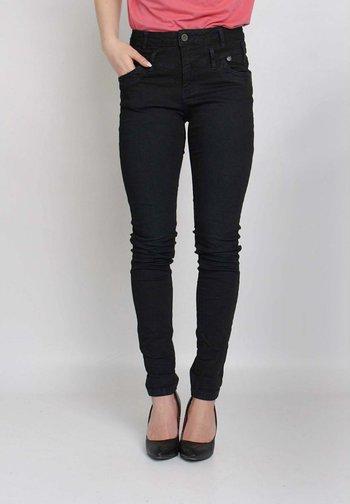 Slim fit jeans - blue spray