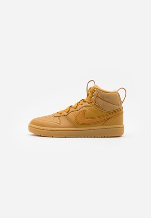 COURT BOROUGH MID 2 - Vysoké tenisky - wheat/medium brown