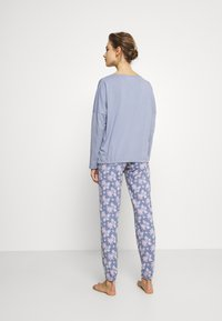 Women Secret - LONG SLEEVES LONG PANT - Pyžamová sada - blues - 2