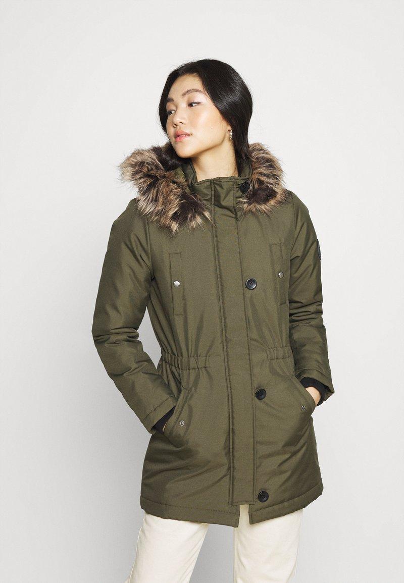 ONLY - ONLIRIS  - Winter coat - grape leaf
