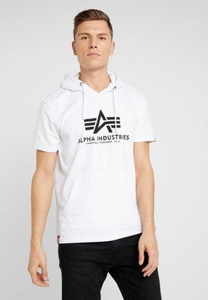 Hoodie - white/black