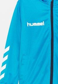 Hummel - PROMO SET UNISEX - Trainingspak - diva blue/marine - 3