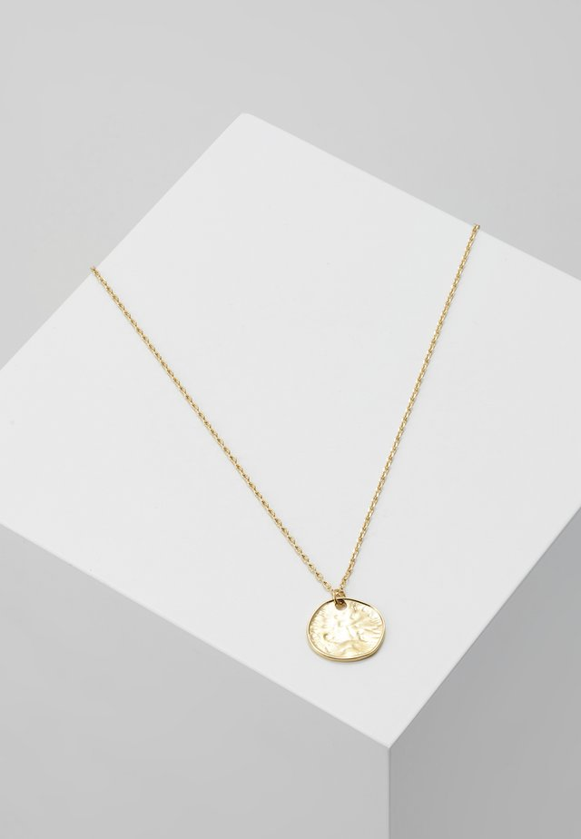 MINI COIN DITSY NECKLACE - Collar - pale gold-coloured