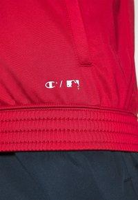 Champion - LA DODGERS TRACKSUITS - Tracksuit - red/dark blue - 7