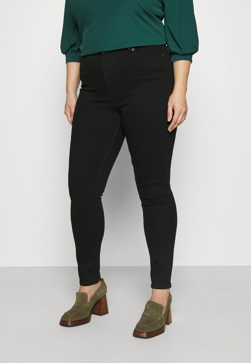 Pieces Curve - PCLILI - Jeans Skinny Fit - black