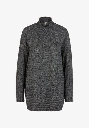 LONGSLEEVE  - Langarmshirt - black melange