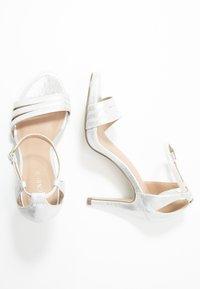 Menbur - High heeled sandals - silver - 3