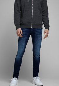 Jack & Jones - SKINNY FIT JEANS LIAM ORIGINAL JOS 283 - Jeans Skinny Fit - blue denim - 0
