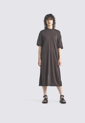 Jersey dress - ebony