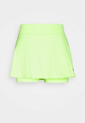 VICTORY FLOUNCY SKIRT - Gonna sportivo - lime glow/black