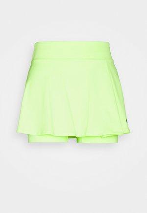 VICTORY FLOUNCY SKIRT - Sportovní sukně - lime glow/black