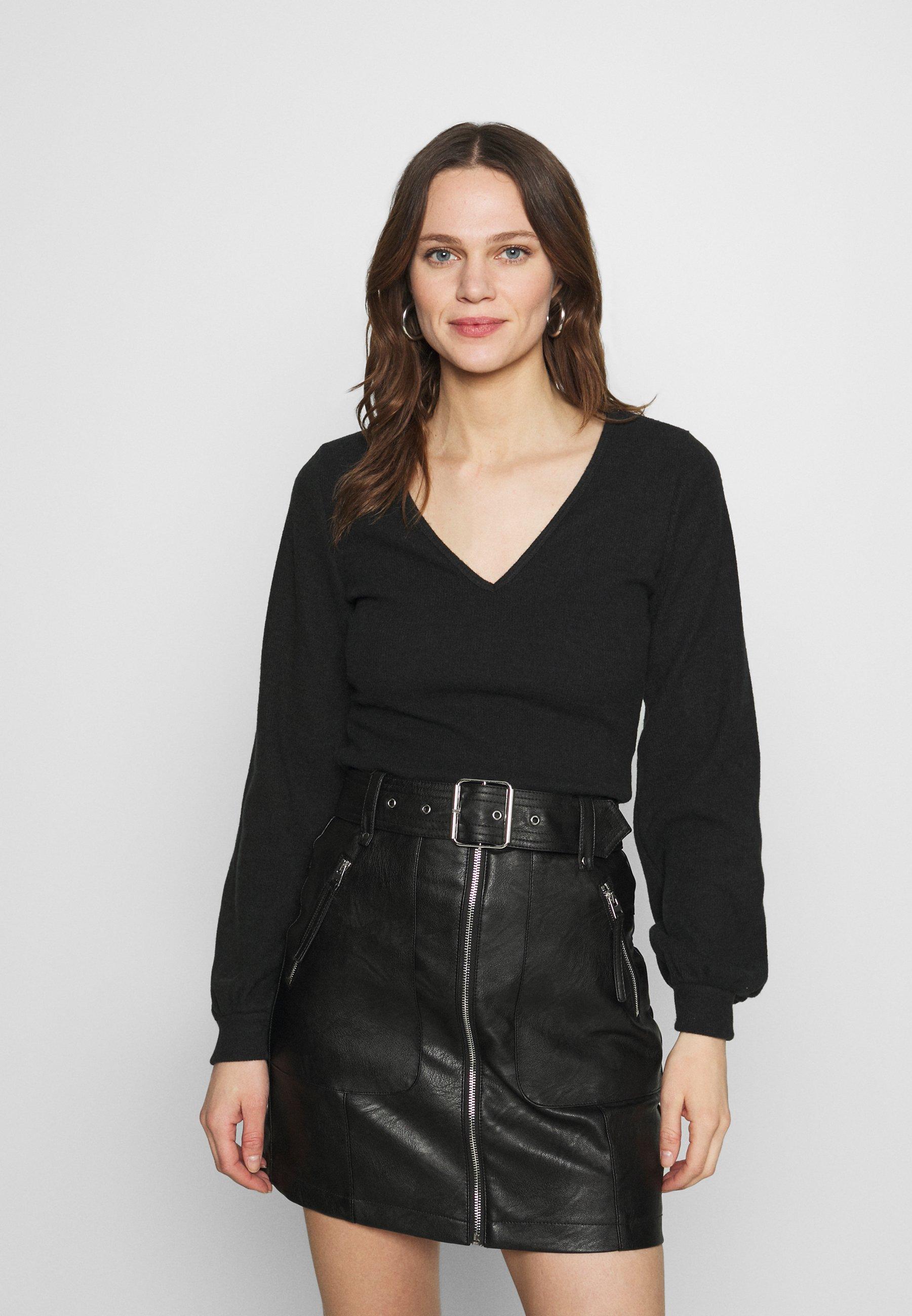 Femme COZY TIE FRONT BODYSUIT - Pullover