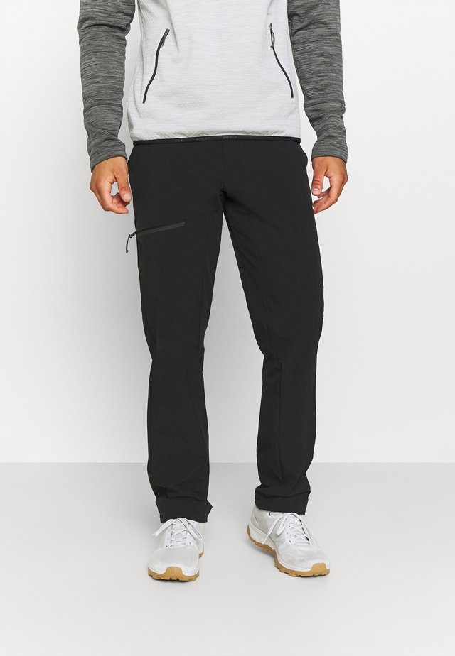 Outdoorové kalhoty - black