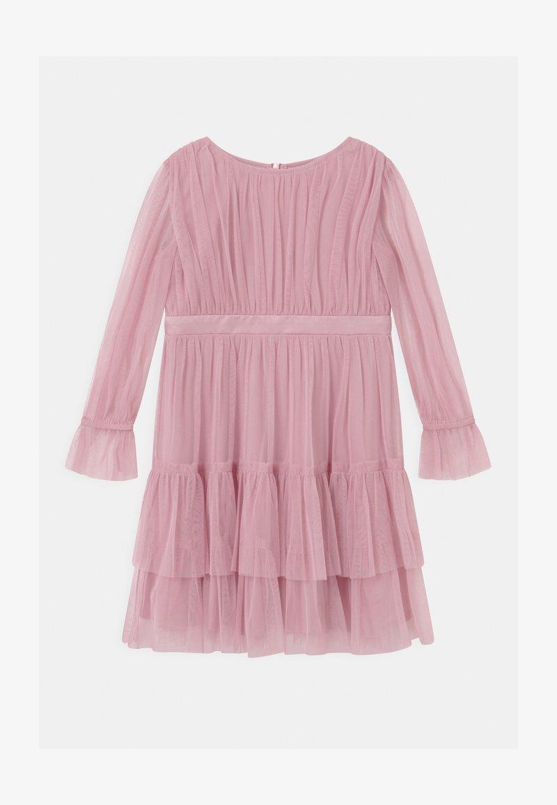 Anaya with love - BISHOP SLEEVE RUFFLE DETAIL - Cocktail dress / Party dress - aurora pink