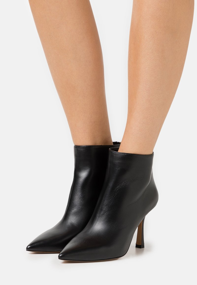 Pura Lopez - High heeled ankle boots - black