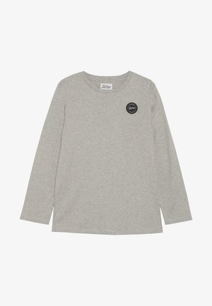 CLASSIC LONG SLEEVE - Long sleeved top - light grey melange