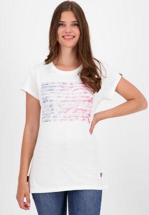 MAXINEAK - Print T-shirt - white