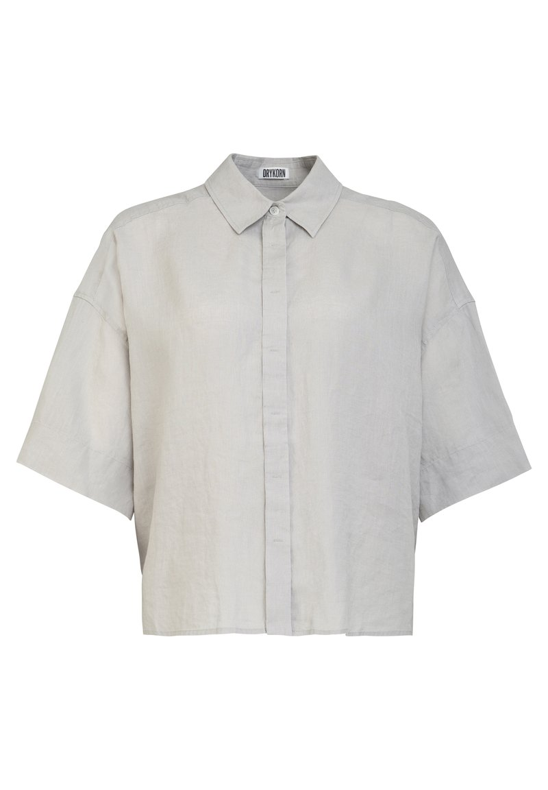 DRYKORN - Button-down blouse - grey