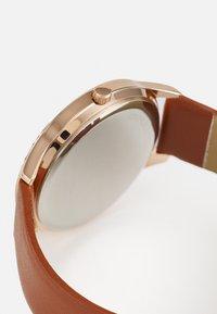 Anna Field - Watch - cognac/rose gold-coloured - 2