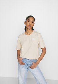 The North Face - SIMPLE DOME - Basic T-shirt - pink tint - 3