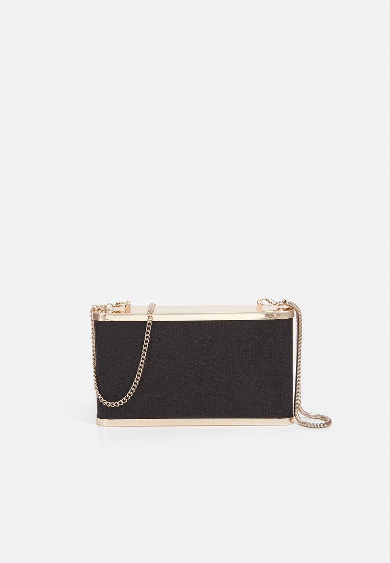 PARFOIS - BOX BAG SPRING BAY M - Clutch - black