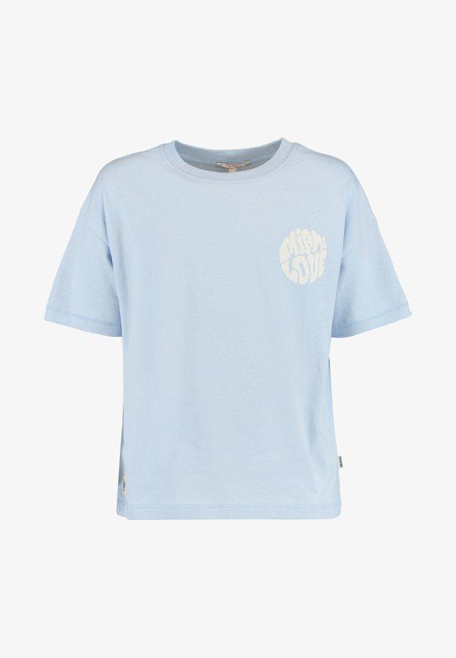 ESSIE  - T-shirt print - babyblue