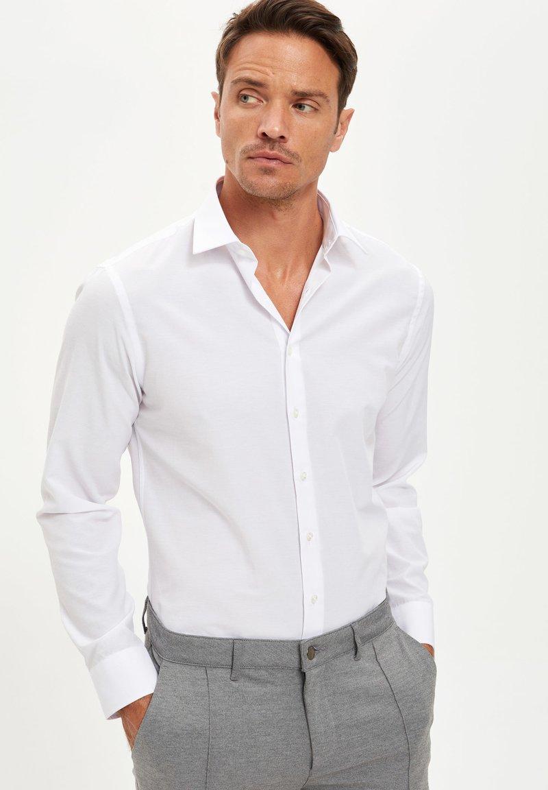 DeFacto - Formal shirt - white