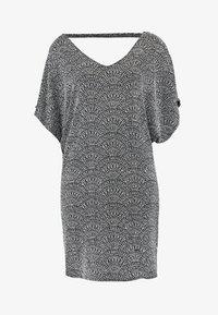 V NECK - Koktejlové šaty/ šaty na párty - silver