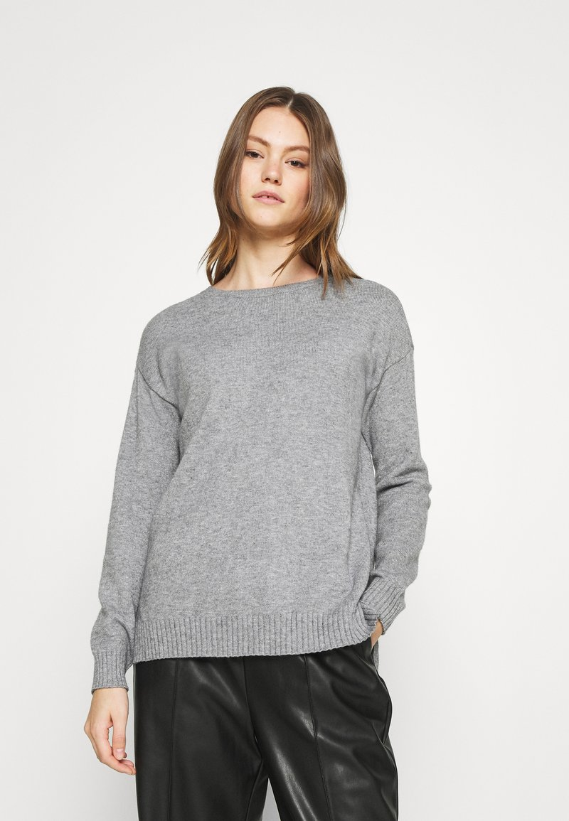 Vila - VIRIL  - Jumper - medium grey melange