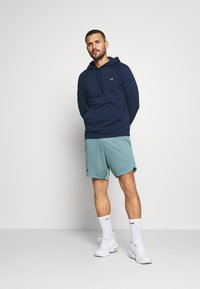 Under Armour - RIVAL  - Hoodie - academy/onyx white - 1