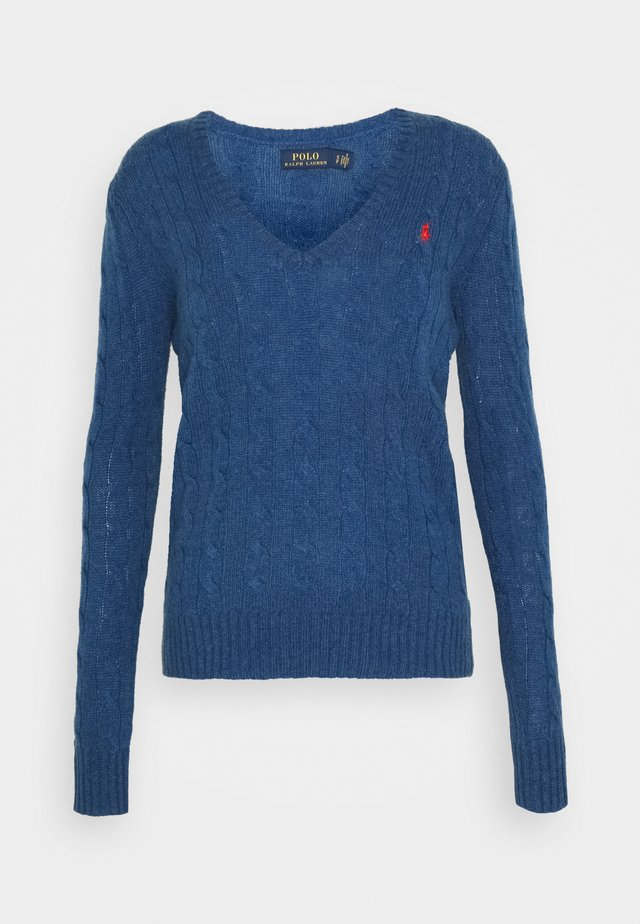 Pullover - aged royal heather