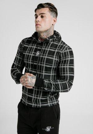 SMART OVERHEAD HOODIE - Jersey con capucha - black/white