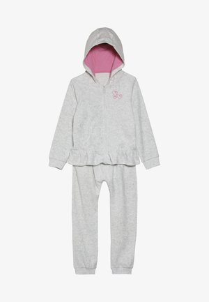 SET - Mikina na zip - grey