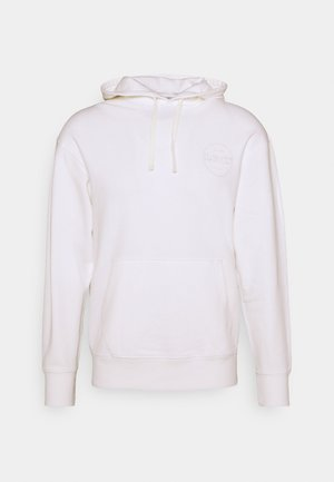 RELAXED FIT LOGO HOODIE UNISEX - Sweat à capuche - neutrals