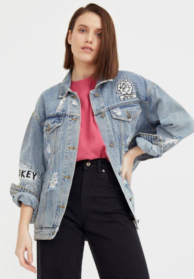 Veste en jean - light blue