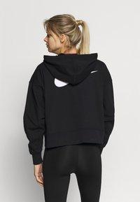Nike Performance - DRY GET FIT  - Zip-up hoodie - black/white - 2
