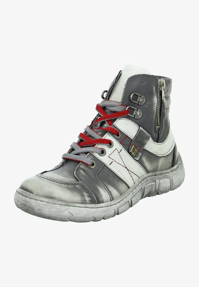 SCHNÜRBOOTS - High-top trainers - grau